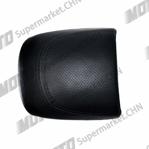 Black Leather Passenger Rear Seat piece For Harley Street Rod 750