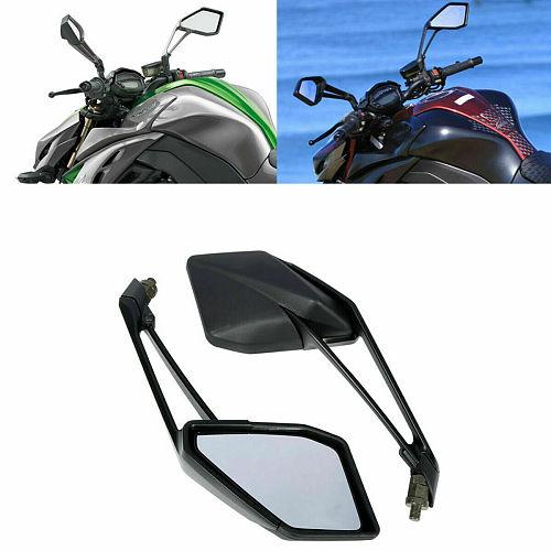 Motorcycle Rear View Mirrors For Kawasaki Z1000 Z 1000 2014-2016 2015 Black L&R