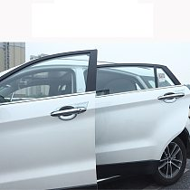 For Ford Territory 2020 ABS Chrome Plated Door Bowl Cover Car Door Hand Bowl Protector Molding Accessories