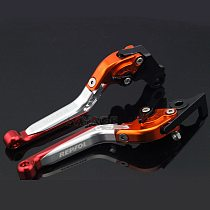 Brake Clutch Levers For HONDA CBR250R CBR300R CB300F CBR500R CB500F CB500X CB190R CB190X Motorcycle Folding Extendable REPSOL