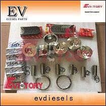 Evictory For Komatsu 6D95 rebuild kit S6D95L SA6D95L-1 Piston+ring+main con rod bearing