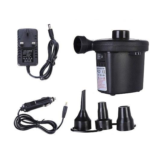 Inflatable Pumps Electric Air Mattress Camping Pumps Car Air Compressor Pumps Portable Quick Filling Air Pumps For Home Use#30