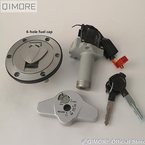 Lock Set / Ignition Switch Lock & Fuel Gas Tank Cap for Motorcycle Keeway RKV125 150 200 Benelli VLM VLC Stels Flame 200