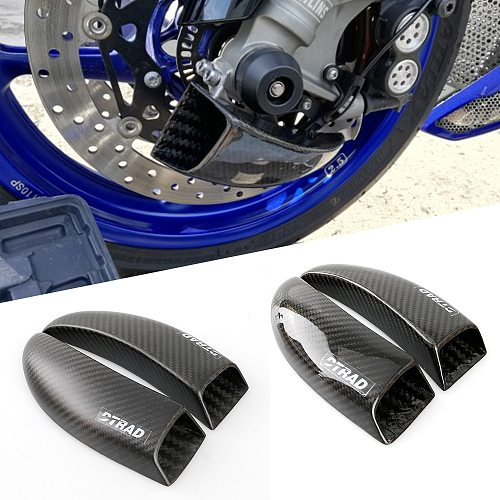 For Aprilia RSV4 Factory R MY09 RF RR X TUONO V4 1100 1000 Shiver 900 Dorsoduro Caponord 1200 Front Brake Disc Cooling Pipes