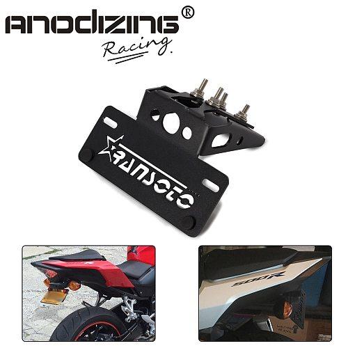 Motorcycle Fender Eliminator License Plate Frame Bracket For Honda CBR500R  CB500F CBR 500R CB 500F 2016 2017 2018 2019