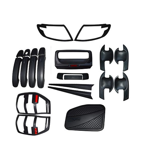 car styling covers for RANGER T6 TXL body kit trims cover lamp hoods headlights tail lamp tank covers fit for ranger T6 2012-14