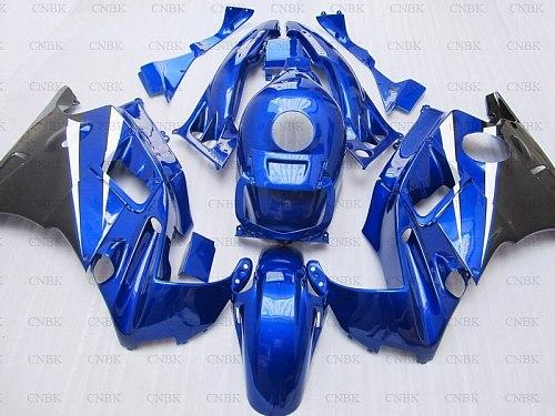 Full Body Kits for CBR600 F2 1994 for Honda Cbr600 Bodywork 91 92 CBR 600 F2 Motorcycle Fairing 1991 - 1994 Blue Black