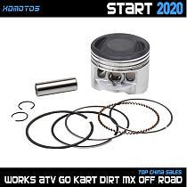 56mm Piston Piston Rings kit For 56mm Bore YinXiang YX 140cc 150cc 1P56FMJ Horizontal Engine Dirt Pit Bike Atv Quad Parts