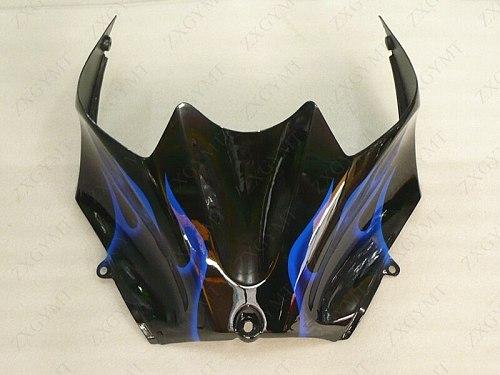 Motorcycle Fairing Zx14 Zx-14r 2006 - 2011 Black Blue Flame Bodywork ZZR 1400 2010 Full Body Kits for Kawasaki Zx14r 2007