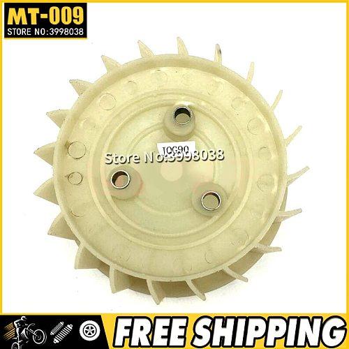 motorcycle JOG90 engine turbo cooling fan leaf for Yamaha 90cc JOG 90 spare parts