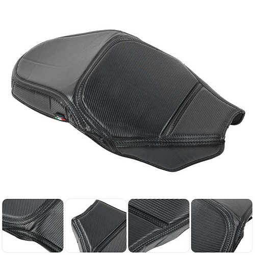 Motorcycle Seat Cover PU Leather Cushion Protector Fit for BMW F750GS F850GS 2018‑2020