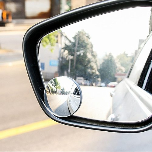 Car 360 Wide Angle Round Convex Mirror Car Vehicle Side Blindspot Blind Spot Mirror Wide Rear View Round Mirror Car Accessories