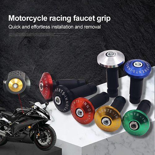 New Motorcycle Handle Bar End Weight Handlebar Grips Cap Anti Vibration Silder Plug for KAWASAKI KTM Yamaha Ducati Suzuki honda