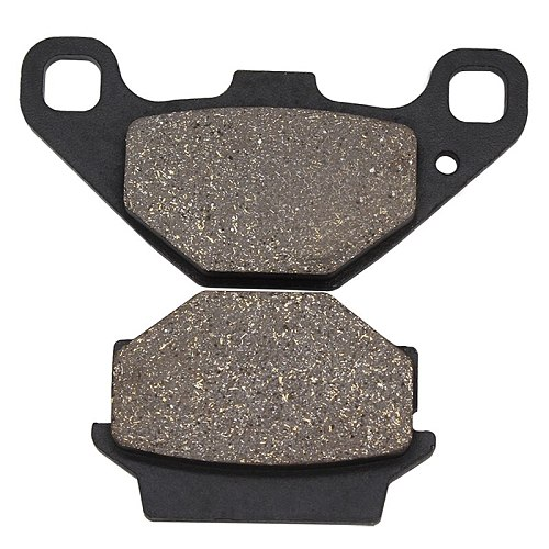 Cyleto Motorcycle Front and Rear Brake Pads for KAWASAKI EX 500 EX500 Ninja 1994-2009 GPZ500S GPZ 500S EX500 1994-2001