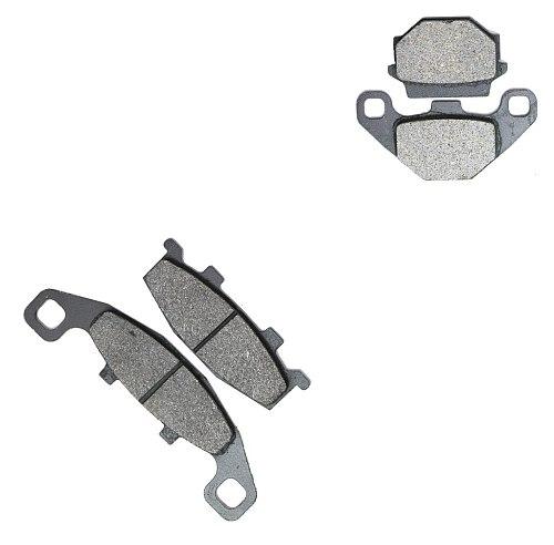 Brake Shoe Pads set fit KAWASAKI KL650 KL 650 B1-B3 Tengai KLR KL 650B E393 1989 1990 1991 / KLE500 KLE 500 B1 B1P B6F 2005 2006