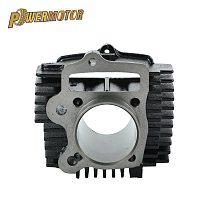 Motorcycle 52.4mm Bore Steel Cylinder for Lifan 125cc LF 125 Horizontal Engines Dirt Pit Bike Monkey Bike ATV Quad Go Kart parts