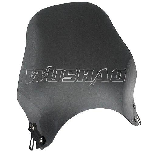 Wind Screen Motorcycle Windshield Windscreen For Yamaha XJR 400 1200 1300 XJR400 XJR1200 XJR1300 Dark Grey Clear