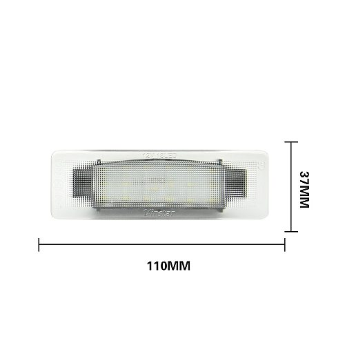 2pcs Led License Number Plate Light For Kia Sportage 2011 2012 2013 2014 2015 2016 2017 2018 2019 2020 Error Free Lamps