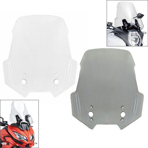 Front Windscreen Windshield Fly Screen Shield Wind Deflector For KAWASAKI Versys 650 1000 KLE650 ABS 2015-2020 KLZ1000 2012-2020