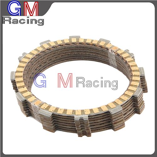 Motorcycle Friction Clutch Plates Disc For SUZUKI DRZ400 DRZ400E DRZ400S DRZ400SM DRZ400SMZ LTZ400 LTZ400Z KLX400 KSF400