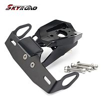 License Plate Holder For YAMAHA YZFR1 YZF R1 M/S Tail Tidy Fender Eliminator Motorcycle Accessories Bracket Number Frame Mount