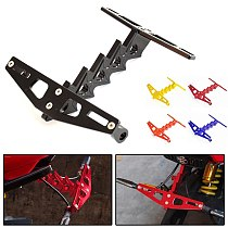 Suitable for Honda MSX125/SF motorcycle modified short tail license plate frame license plate frame turn signal bracket