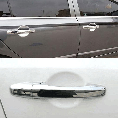 Chrome ABS Car Door Handle Cover Trim Molding For Honda Civic 2006-2011 Pilot 2009-2015 Car Styling Accessary