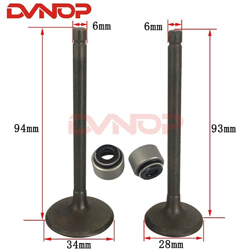 For YAMAHA XT225 TW200 225 YP250 MAJESTY YP1 AG200 200 Motorcycle Engine Valve Intake Exhaust Stem Valve Enine Spare Parts