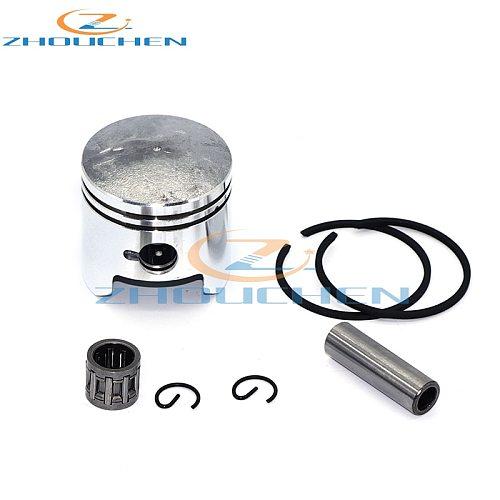 40mm Piston 10mm Pin Ring Needle Bearing For 2 Stroke 47cc Engine Minimoto Pocket Dirt Bike Mini Kids ATV Quad