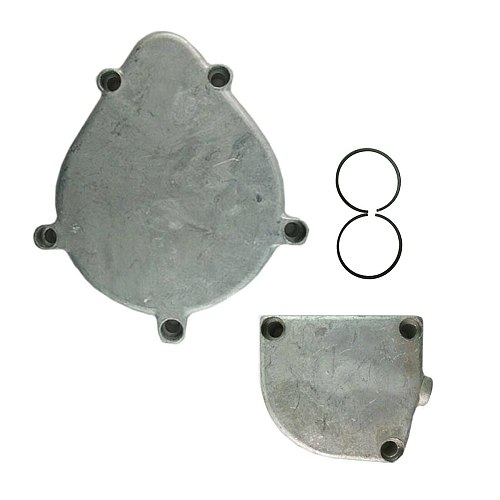 47mm 2x Piston Rings&3Holes/5Holes Clutch Cover For 66cc 80cc Motorized Bike