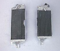 NEW Aluminum Radiator For Kawasaki KX250 KX 250 KX-250 1990 1991 1992 1993 2-stroke L&R KX 250 90 91 92 93