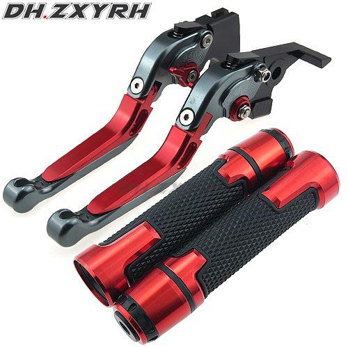 For Benelli Tre-K 1130 TNT 1130 Sport/Evo 05-14 Motorcycle Folding Extendable adjustable Brake Clutch Levers Handbar End Grips