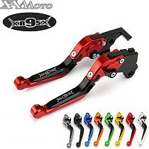 Motorcycle Folding Extendable CNC Moto Adjustable Clutch Brake Levers For Buell XB9 all models XB9SX 2003-2009