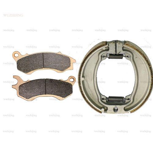 for HONDA PCX 125 PCX125 2011 - 2017 Brake Pads Shoe Drum set Front Rear 2016 2015 2014 2013 2012