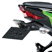 Motorcycle License Plate Holder Bracket Frame Tail Tidy Fender Eliminator For Kawasaki Ninja 400 Z400 2017 2018 2019 2020