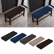 Soft Stretch Dining Room Elastic chair Bench Covers Slipcover Seat Protector for Living Room Kitchen Bedroom