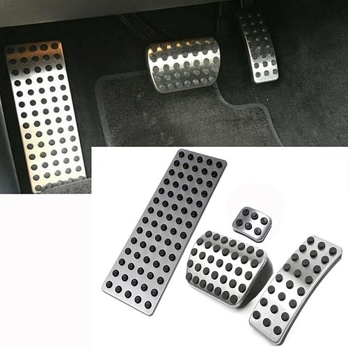 Car Pedals For Mercedes Benz A B GLA ML GL R W176 W245 W246 W251 W164 W166 X164 X166 C177 X156 AT Accelerator Brake Footrest Pad
