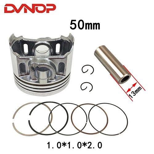 Motorcycle STD 50mm Piston Ring Gasket Kit for Honda DREAM 110 EX5 NBC110 NBC 110 2013-2017