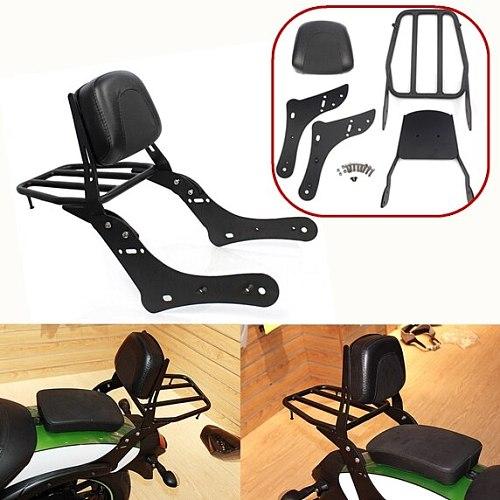 Rear Luggage Rack Support Backrest Sissy Bar Backrest Passenger Seat Backrest For 2015-2018 Kawasaki Vulcan S 650 VN650 2016