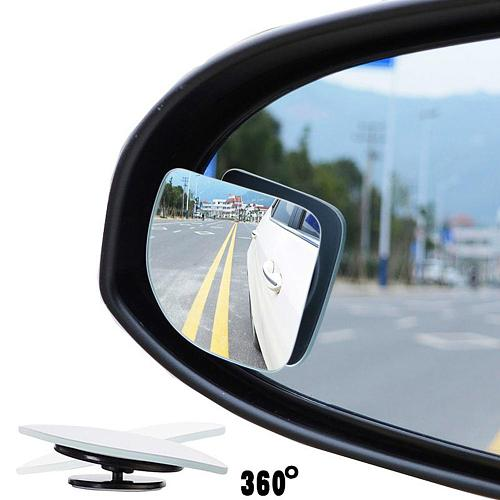 1 Pair Universal Adjustable car mirror Car Auto Wide Angle Side Rearview Adjustable Blind Spot Mirror заднего вида Accessories