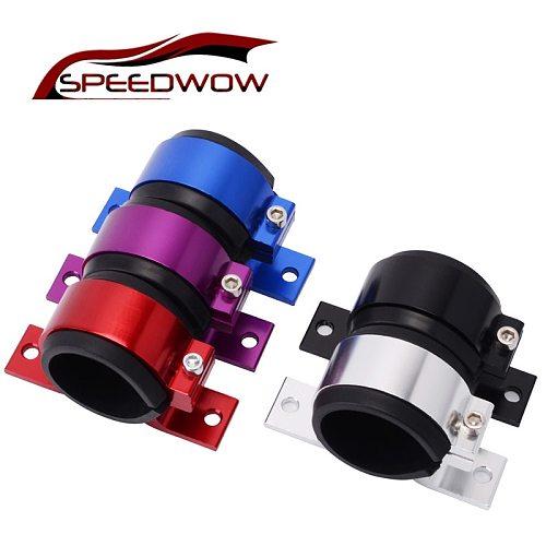 SPEEDWOW Aluminum 50mm Single Fuel Pump Bracket / Fuel Filter Bracket