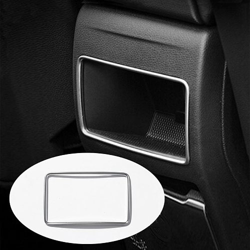 ABS Chrome Rear Air Outlet Frame Cover Trim For Mercedes Benz GLA/CLA/A/B Class 2011-2017 Car Styling Accessories