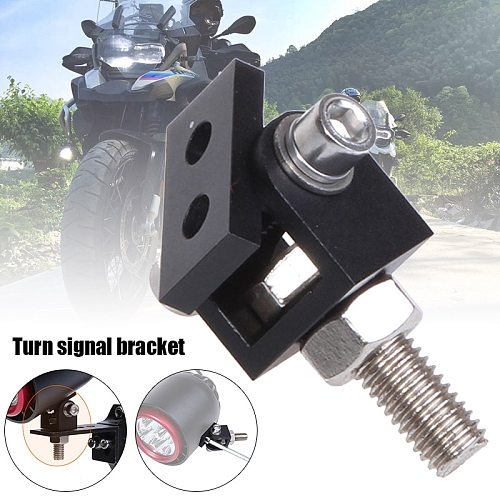 Motorcycle LED Headlight Expansion Mounting Bracket Durable Lamp Holder Clamp EIG88