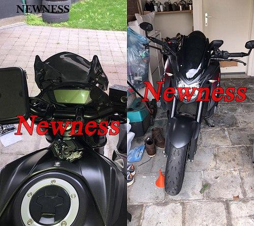 Windscreen Windshield Shield Screen with Bracket Motorcycle Accessories for Suzuki GSX-S750 GSXS750 GSXS 750 2017-2019