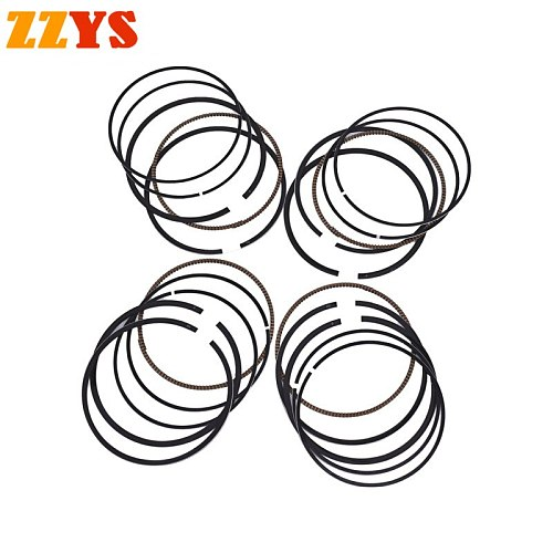 1/4 Sets Motorcycle Engine Parts STD Bore Size 55mm Piston Rings For YAMAHA XJR400 XJR 400 1990-1994 XJR400 R XJR400R 1995-2002
