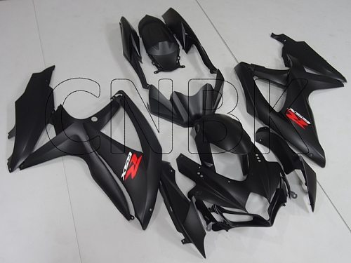 GSX R 750 2009 Full Body Kits GSXR 750 2008 Matte Black Full Body Kits for Suzuki GSXR750 2008 - 2010 K8 Motorcycle Fairing