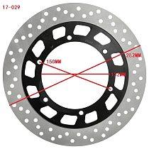 Motorcycle Rear Brake Disc Rotor for Yamaha TZR50 XV125 XVS125 XV250S XVS250 XV750 FJ1100 XV1100 FJ1200 VMX1200 V-max XVZ1300
