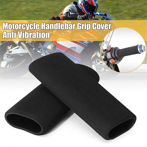 Foam Protaper Cuffs Motorcycle Handlebar End Anti Vibration Cover Grips Motorcycle Motorbike Handle Grip For Scooter