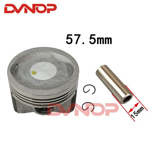 Motorcycle piston ring Kit 57.5mm For Qingqi Suzuki VECSTAR 150 AN150 QS150T QS150T-A AN150 150cc Engine Spare Parts