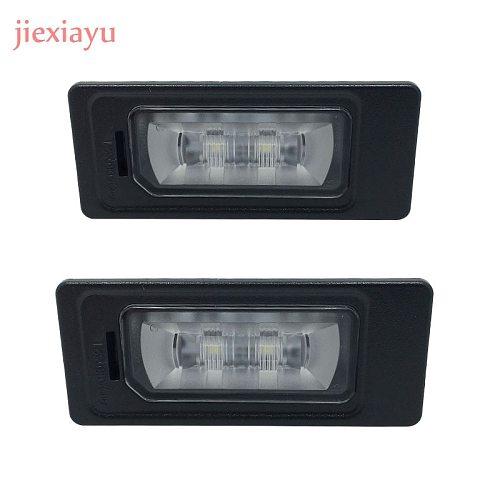 2 Pcs LED License Plate Lamp For Jetta  A1 A3 A4 A5 A6 A7 Q3 Q5 TT 4GD 943 021 4G0 943 021  5N0 943 021 3AF 943 021 A